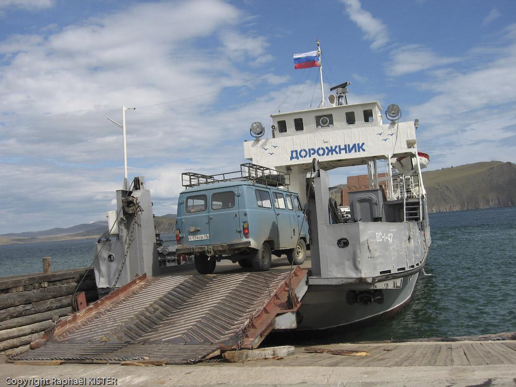 Embarquement pour l'île d'Olkhone...