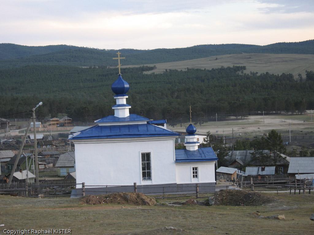Eglise orthodoxe du village Khugir