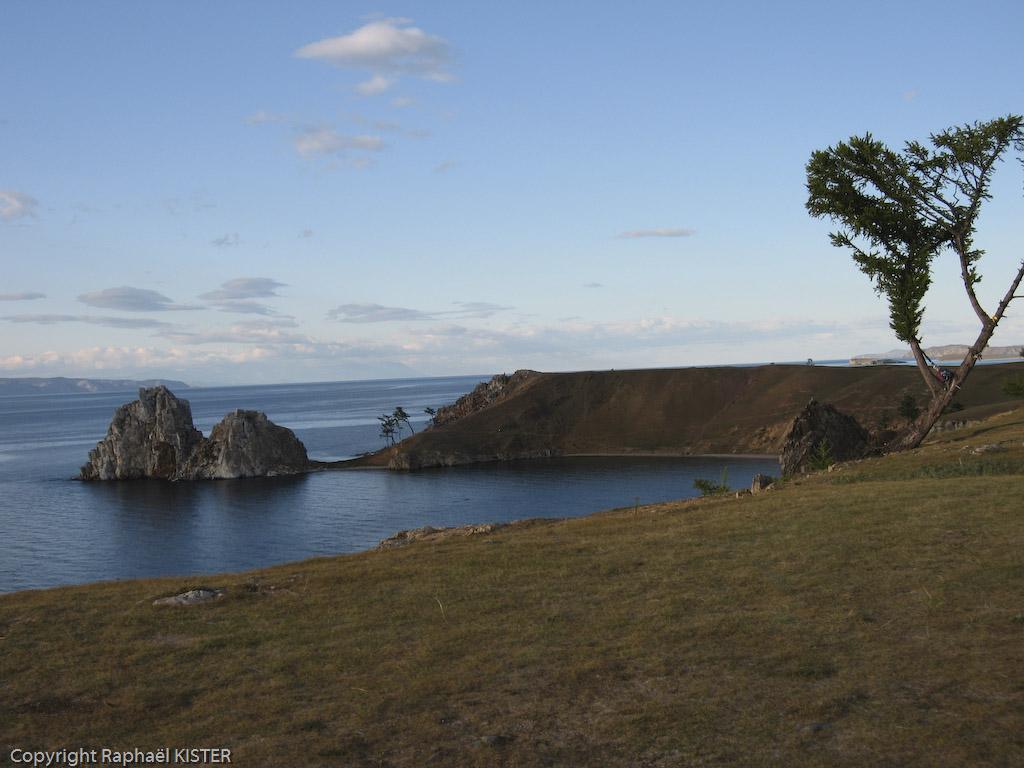 Aperçu du rocher du Chaman (Cap Burkhan)