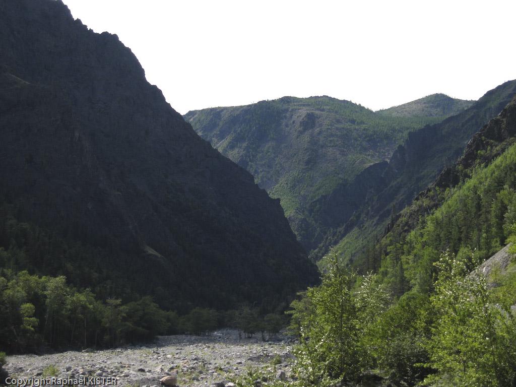 Gorge de la rivière Rity - 1er jour
