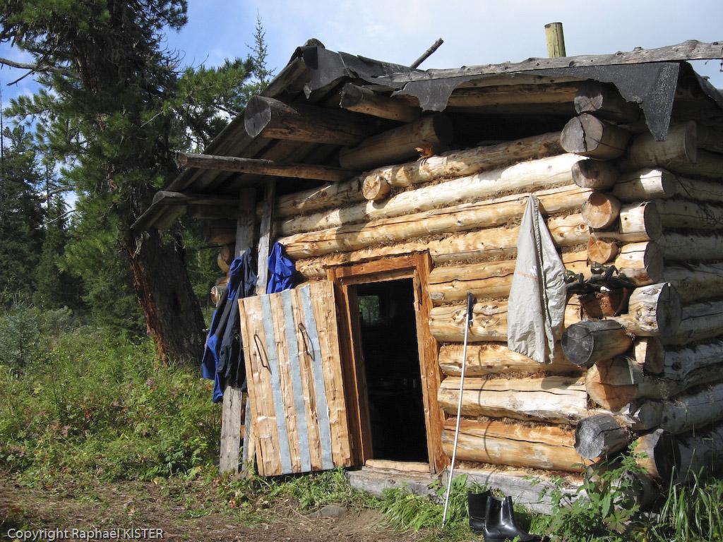 La cabane des gardiens de la réserve - Source de la Léna - 2e jour