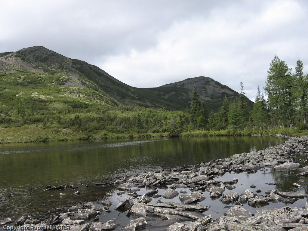 Aperçu du lac - Sources de la Léna - 4e jour