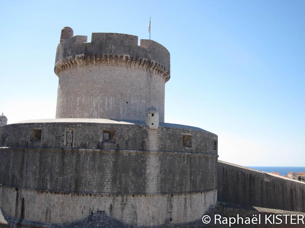 Tour de l'enceinte de Dubrovnik