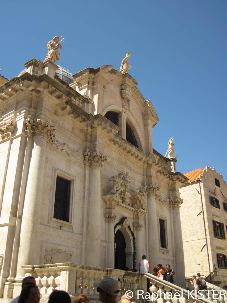 Façade de l'église Saint-Blaise