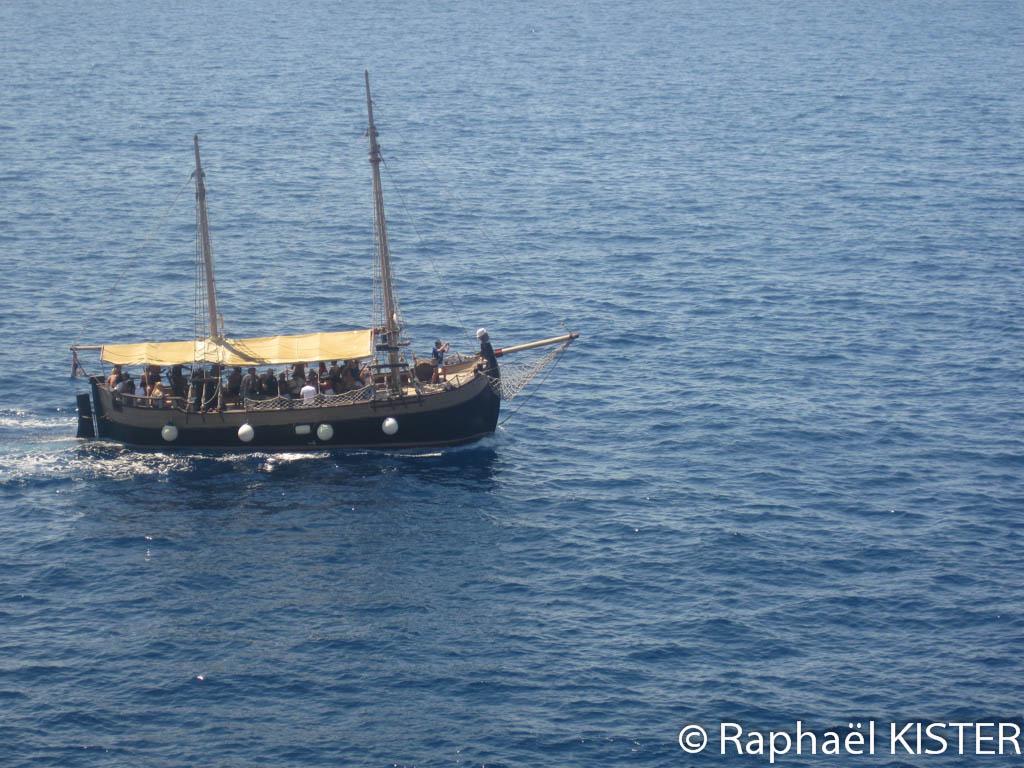 Un bateau panoramique...