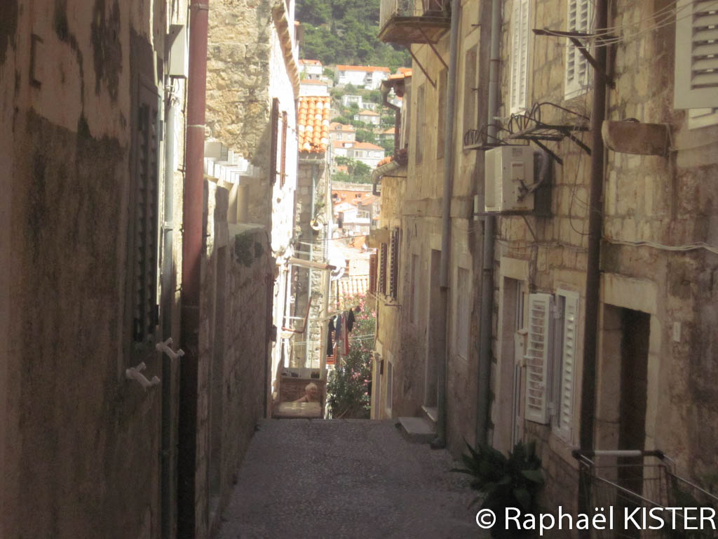 Une ruelle de Dubrovnik