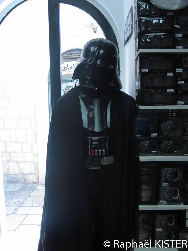 Dark Vador et Star Wars / Une partie de l'épisode 8 a été tournée à Dubrovnik, comme la série Game Of Thrones
