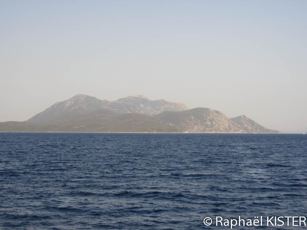 Aperçu de la presqu'île de Peljesac...