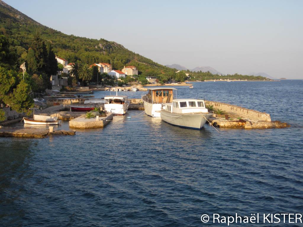 Le petit port de Kuciste