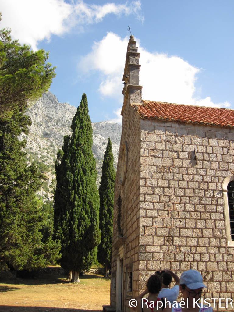 Chapelle sur les hauteurs d'Orebic