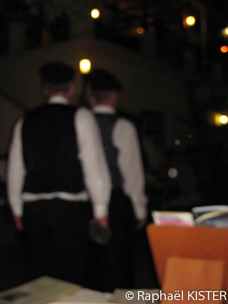 Sali - Festival - Tournée dans les restaurants