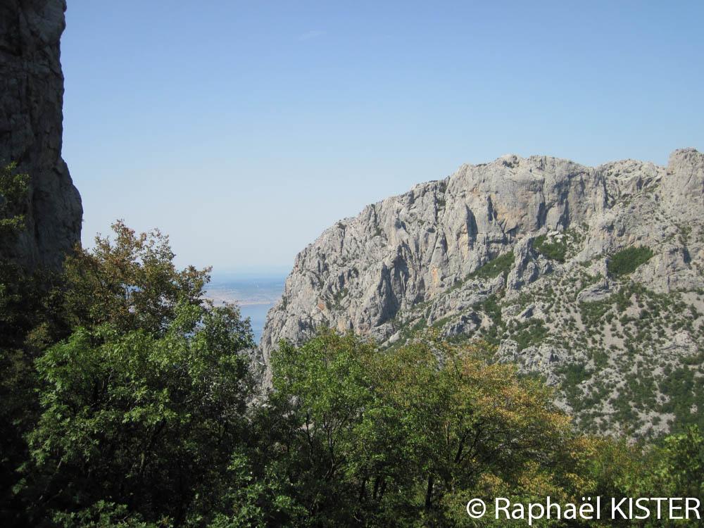 Randonnée dans le parc national de Paklenica