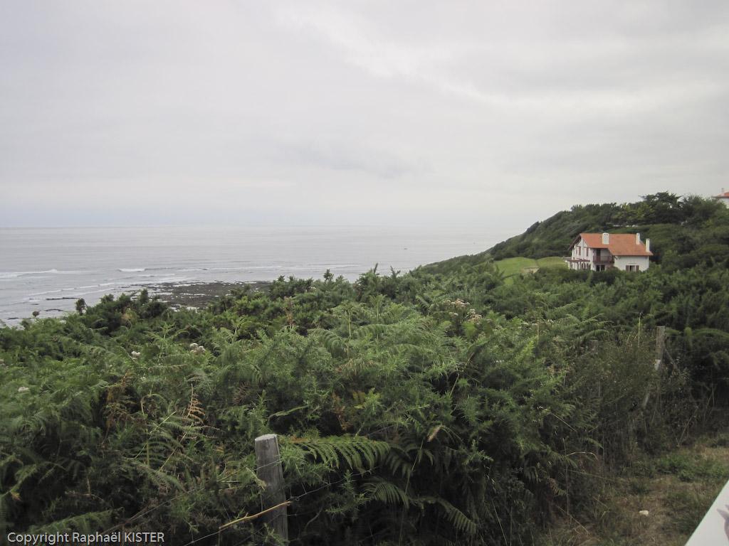 Maison de style Basque sur le littoral à Guéthary