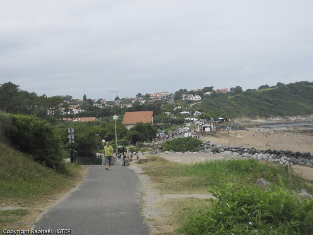Arrivée à Guéthary