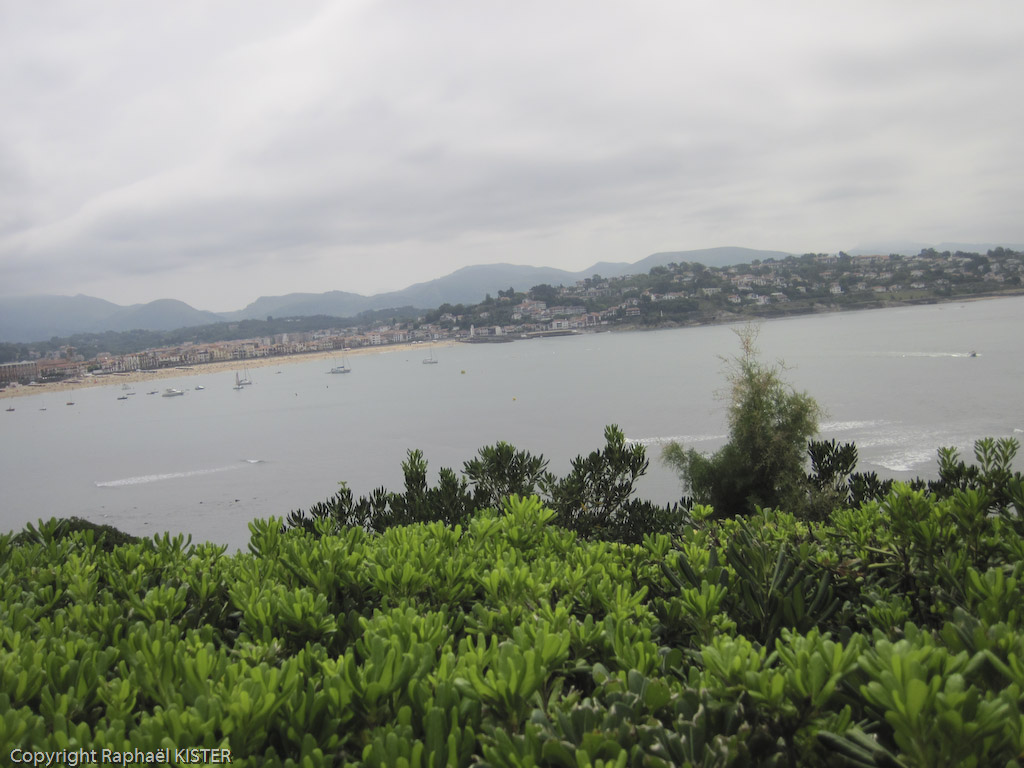 La baie de Saint-Jean de Luz...