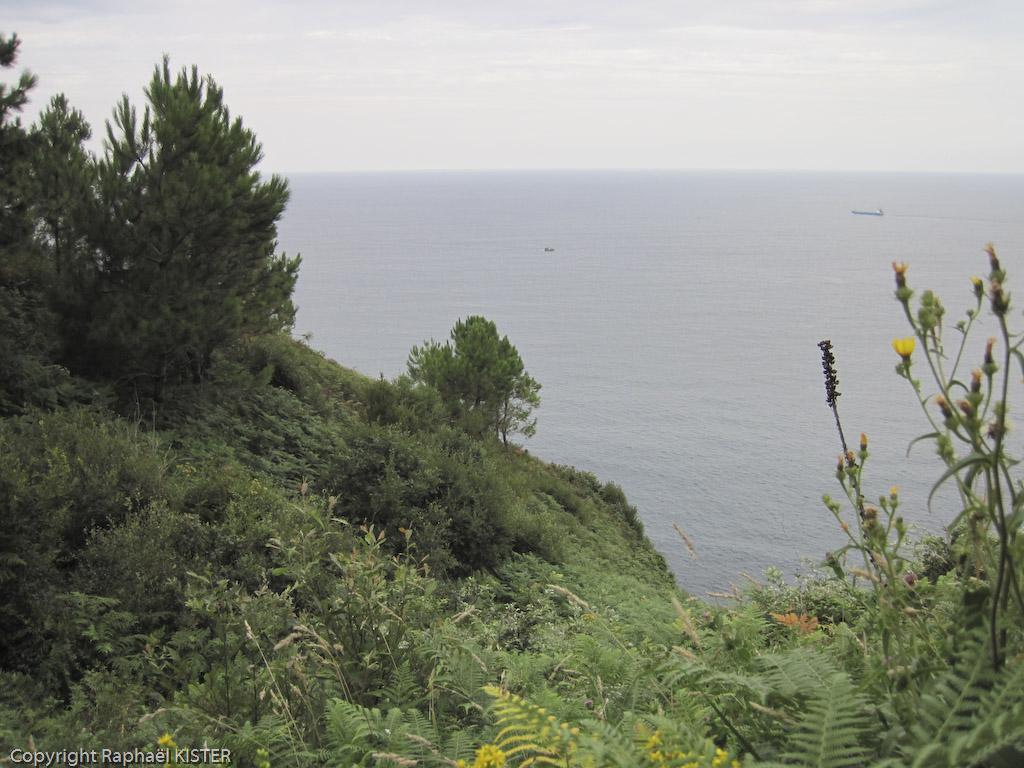 Littoral proche de San-Sébastien