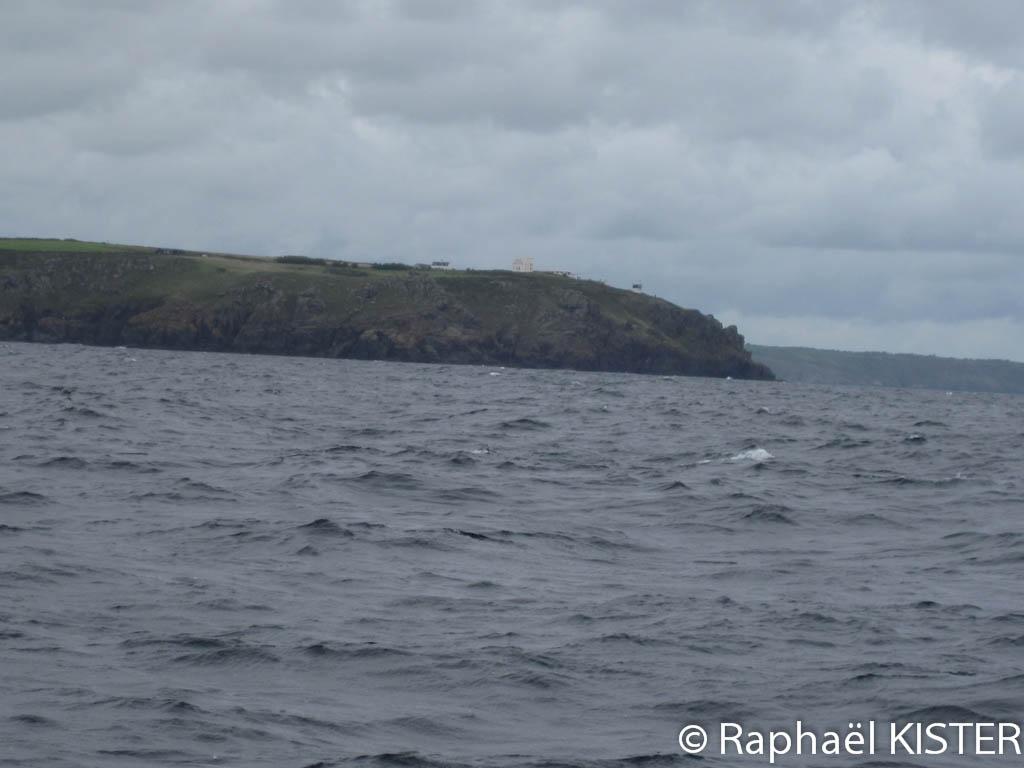 Le cap Lizard, le point le plus au sud de l'Angleterre