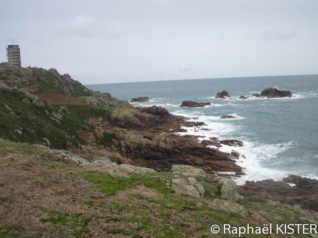 Le littoral ouest de Jersey