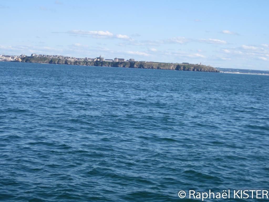 Aperçu de Granville et de son littoral