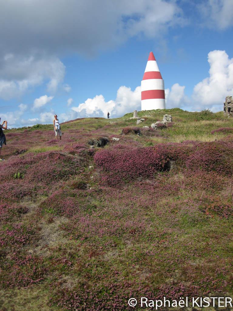 Aperçu d'une borne GPS sur les hauteurs de Saint Martin