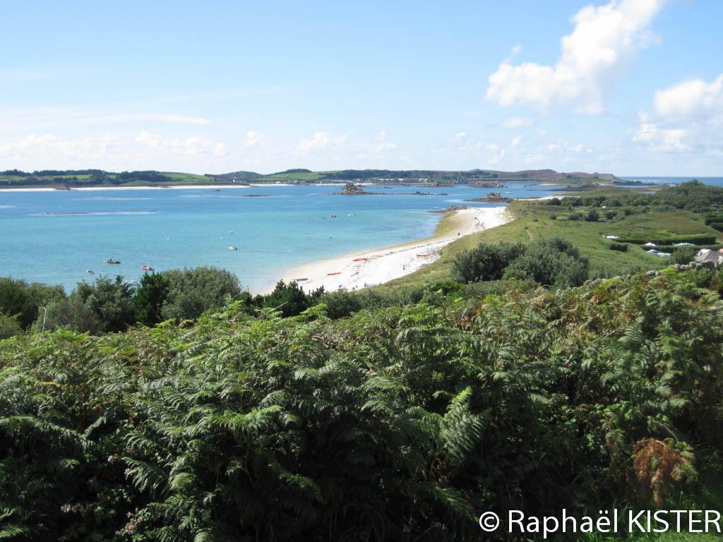 Le littoral de Saint Martin