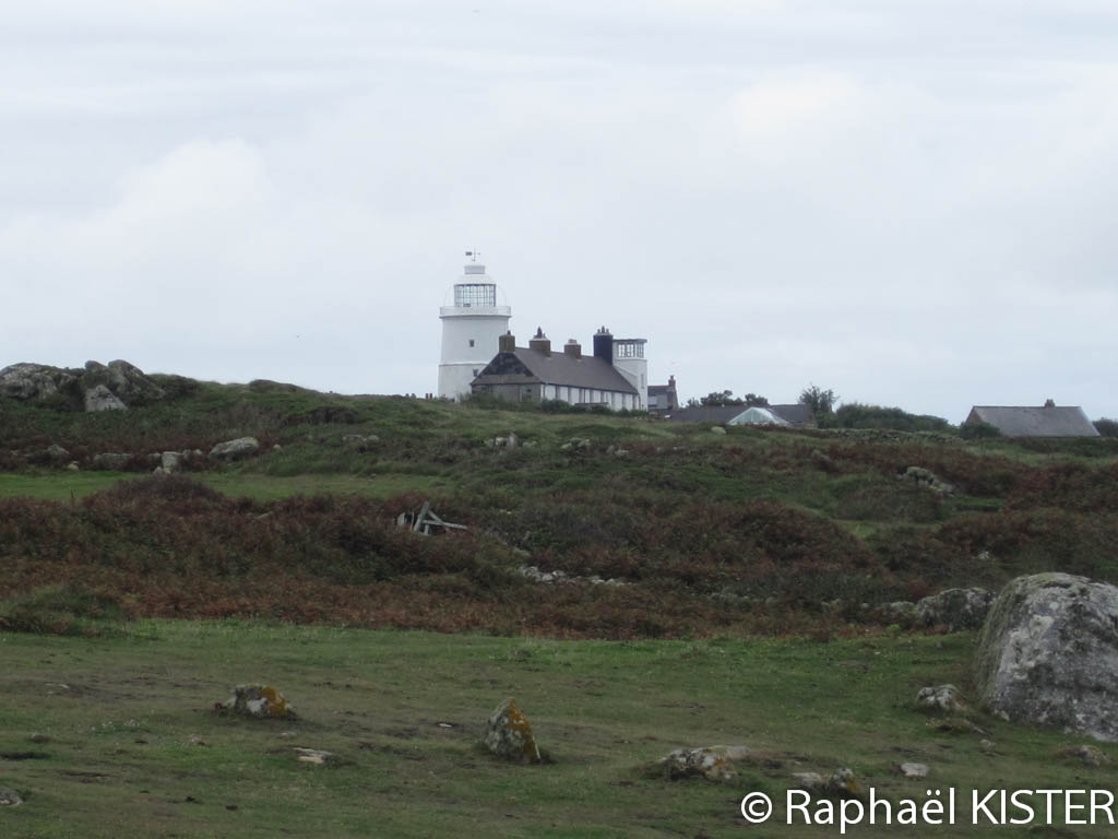 Aperçu de l'ancien phare de Sainte Agnès