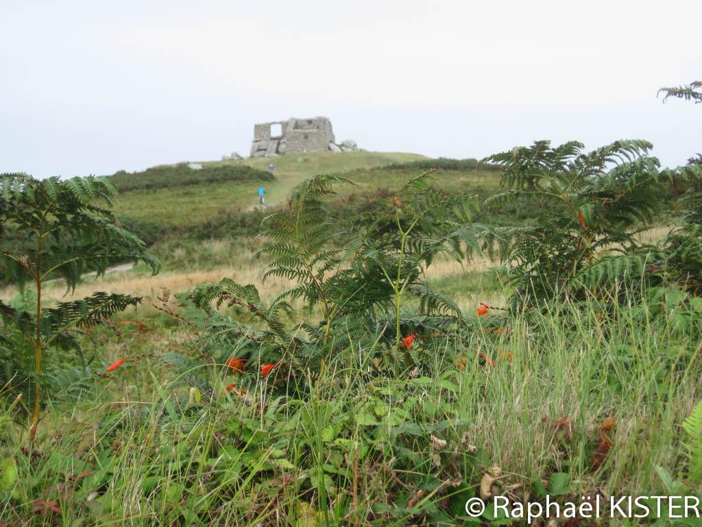 Ruine d'un fort à Tresco