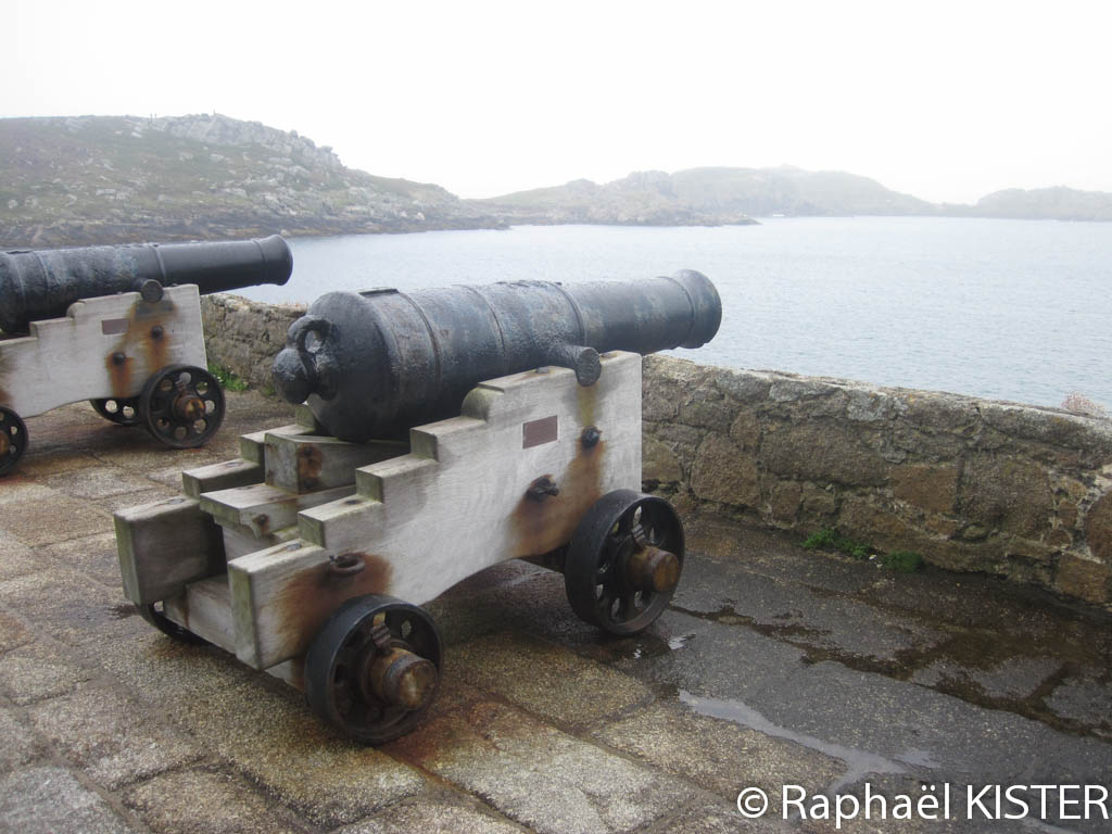 Canons au fort Cromwell
