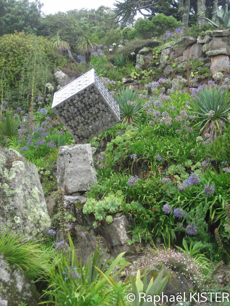 Jardin tropical à Tresco