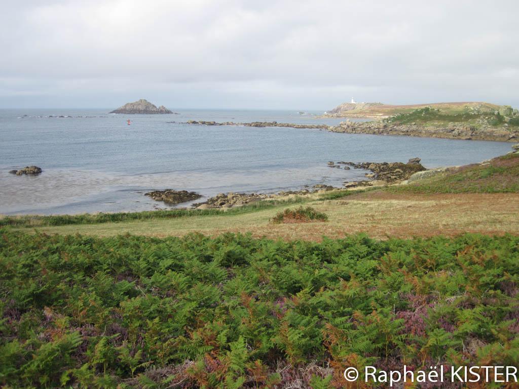 Aperçu des côtes de Tresco (Long Point)