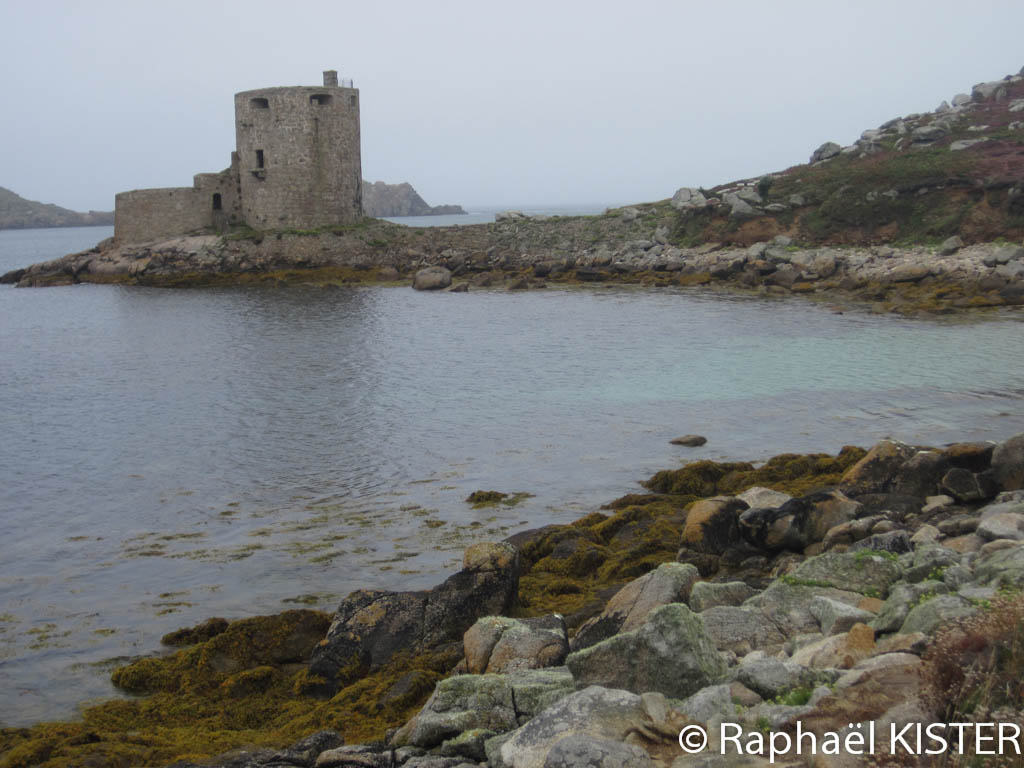 Aperçu du fort Cromwell à Tresco