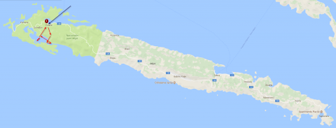 Map Mljet